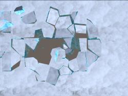 雷达互动-冰裂