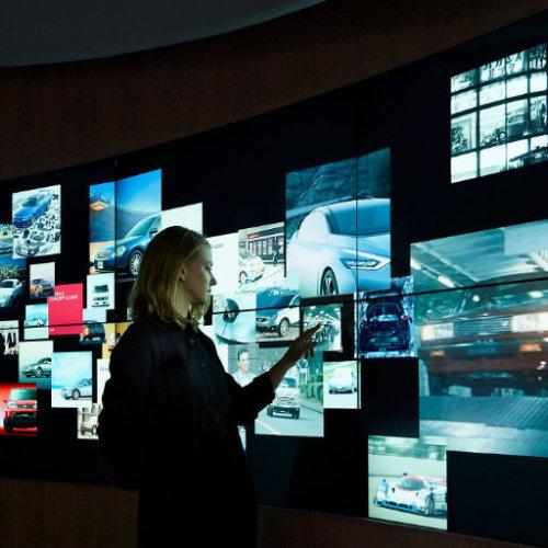 大屏互动—照片墙